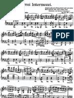 Brahms - Op.117 - Sauer