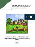 Projetos agroindustriais