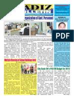 Cadiz Bulletin
