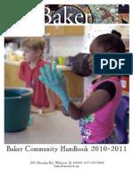 Community Handbook 2010-2011 Revised 8.11.2010 Final