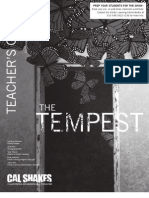 The Tempest Teacher's Guide Web