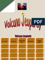 Volcano Jeopardy