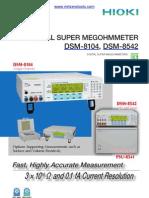 Hioki DSM-8542