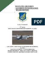 f22 Crash Report