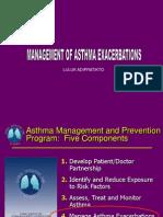 Asthma Management Exacerbation