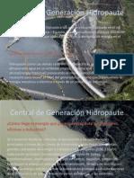 Central de Generación Hidropaute grupo 5