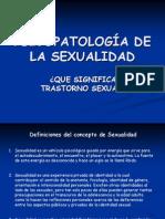 PSICOPATOLOGÍA DE LA SEXUALIDAD