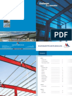 Multi Color Project Brochure