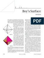 What is a Boy's Surface