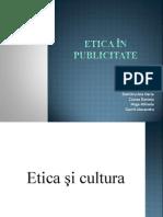 Etica în publicitate