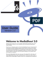Media Shout 2.0 User Guide