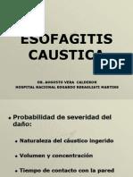 3.Esofagitis caustica