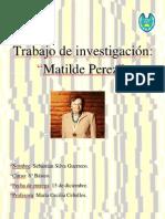 Matilde perez