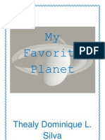 My Favorite Planet NIQUE
