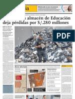 Más de medio millón de niños se quedan sin material educativo