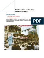 Afghanistan-Pakistan Taliban Are Pak Army Proxies, Not Pashtun Nationalists Farhat Taj
