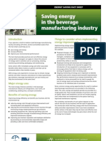 17 Food Processing Food Beverage Energy Reduction Factsheet