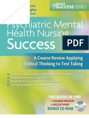 Psychiatric Mental Health Nursing Success | Psychiatric