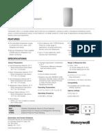 Honeywell 5821 Data Sheet