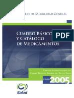 Cuadro Basico de Medicamentos 2005