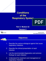 Conditions of Respi System