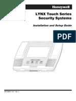 Honeywell L5000 Install Guide