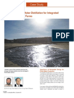 Potential of Solar Water Distillation for Integrated