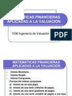 Tarea 04. Matem. Financieras Aplicadas a la Valuación (I-2012)
