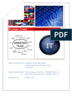 Foreign Trade and Information Systems - Analysis Report