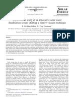 2003-Experimental Study of an Innovative Solar Water
