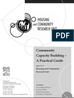 Community Capacity-Building a Practical Guide