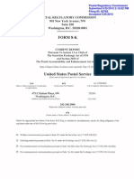 USPS 8-K Filing 5-25-2012
