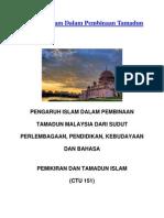 Pengaruh Islam Dalam Pembinaan Tamadun Malaysia