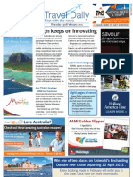Travel Daily for Thu 23 Feb 2012 - Virgin Australia, Sunshine Coast, Air India, Mirvac, AsiaPacific fares, UU and much more
