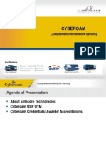 CyberoamPresentation