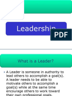 Leadership - KJA