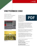 Vectorbox Dsx Datasheet
