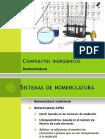 COMPUESTOS INORGÁNICOS Nomenclatura Curso de química básica Sesion (17)
