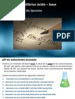 Equilibrios ácido – base Medición del pH Curso de química básica Sesion (26)