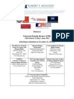 Universal Periodic Review 13th session RFK Center