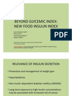 Insuline Index