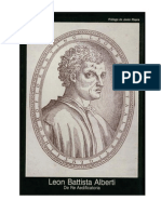 Leon Battista Alberti - De Re Aedificatoria