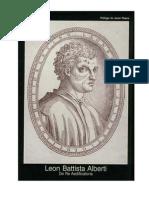 Leon Battista Alberti - De Re Aedificatoria