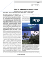 Sympatric Speciation in Palms