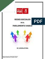 estudioRRSSparlamentovasco