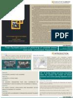 Theses presentation on Planning of Coastal Areas for Tsunami, Case study- Chinnangudi,Nagapatinam,India