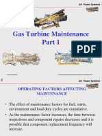 Gas Turbine Maintenance