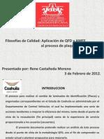 QFD Proceso de Plaqueo
