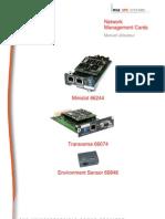 Carte SNMP  MGE 66074