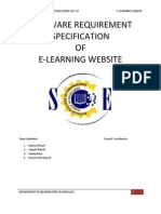 E Learning Srs